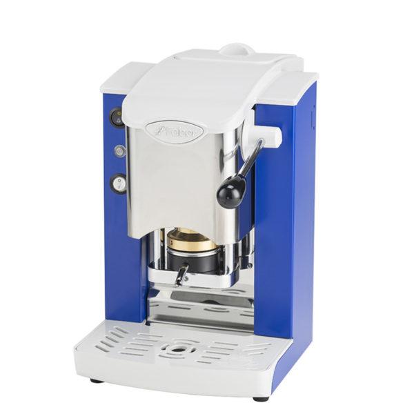 Macchina da caffè in cialde Slot Inox color blu e grigio