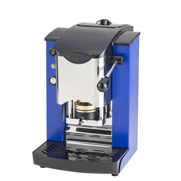 Macchina da caffè in cialde Slot Inox color blu e nero