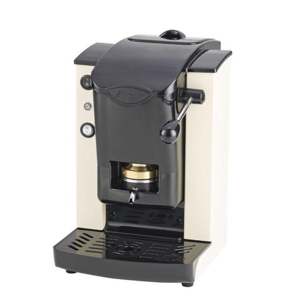 Macchina da caffè in cialde Slot Plast color avorio e nero