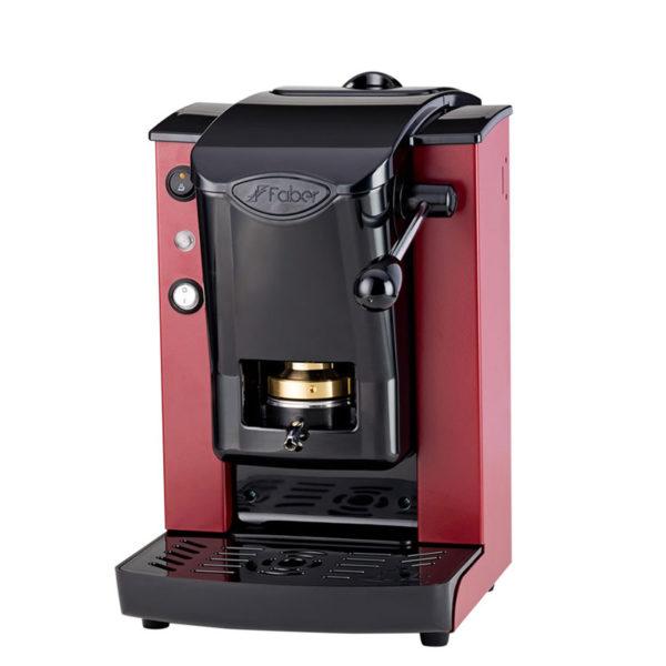 Macchina da caffè in cialde Slot Plast color borgogna e nero