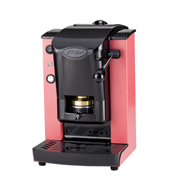 Macchina da caffè in cialde Slot Plast color corallo e nero