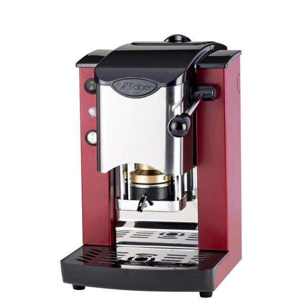 Macchina da caffè in cialde Slot Inox color borgogna e nero
