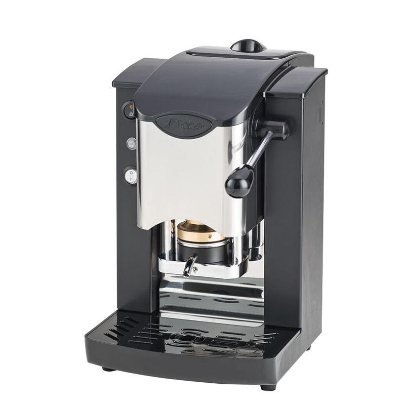 Macchina da caffè in cialde Slot Inox color nero e nero